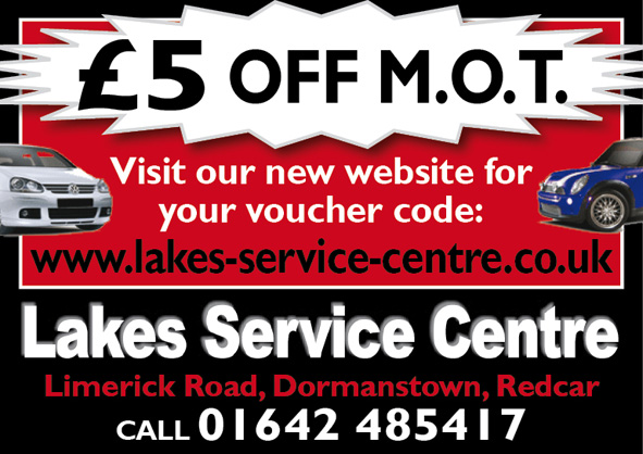 Lakes Service Centre £5 Off